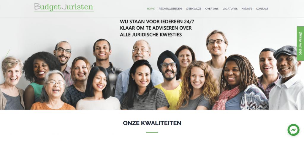budgetjuristen homepage